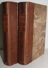 """Prosper Mérimée """"Lettres à M. Panizzi 1850-1870"""" 2 vol. E.O. 1881 bien reliés"""