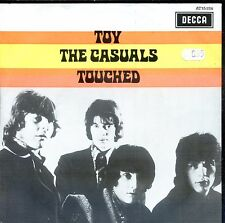7inch THE CASUALS toy - touched YELLOW ORANGE COVER holland EX soc