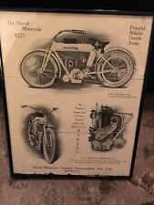 Super Rare Marvel Motorcycle Co Advertising Ad For The Marvel Motorcycle / Nice!