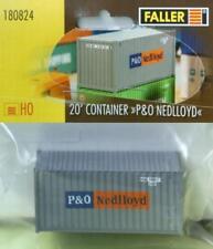 """Faller 180824 H0 - 20`Container """" P&O Nedlloyd NEU & OvP"""