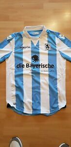 TSV 1860 MÜNCHEN Trikot Shirt Macron Blau Weiss XXL 2 XL