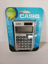 Casio SL300SV 8-Digit LCD Solar and Battery Powered Handheld Calculator