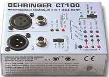 Behringer CT100 Cable Tester - NEW!