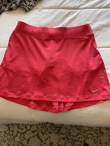 Nike Golf Women's Skirt Skort Dri-FIT Red/Orange Size Medium - Brand New