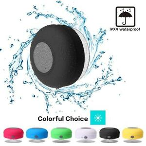 Bluetooth Wireless Speaker Waterproof Shower Wireless Resistant Portable Mic