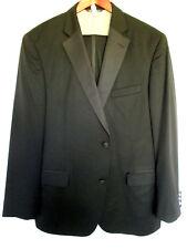 Saks Fifth Avenue Black Formal Men's Tuxedo 44L 38x28 Premium Super 110's Wool