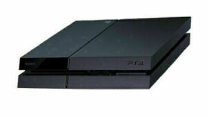 Playstation 4 Black 500GB Model With Two Controllers and Three Sealed Games
