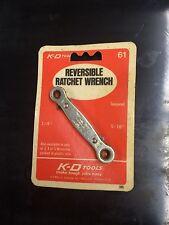 K-D #61 reversible ratchet wrench