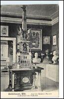 SCHÖNHAUSEN Elbe Muesum Bismarck Fürst 1908 Credenz-Tisch der Studenten alte AK
