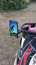 GOLF BAG SELFIE MOBILE PHONE MOUNT TRIPOD GOLF TROLLY PHONE HOLDER CLIP