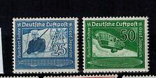 Briefmarken Deutsches Reich 669 - 670 postfrisch   Flugpostmarken