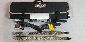 "Hoyt Satori 19"" RH Black Riser with Medium RealTree Edge Camo Limbs"