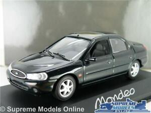 FORD MONDEO MK2 MODEL CAR GREEN 1:43 SCALE MINICHAMPS 4 DOOR 1996 K8