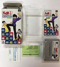 RANMA 1/2 PUZZLE NTSC-J SUPER NINTENDO JAP SUPER FAMICOM