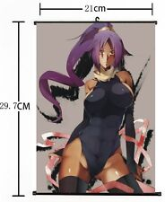 Hot Japan Anime Cosplay Bleach Yoruichi Home Decor Poster Wall Scroll