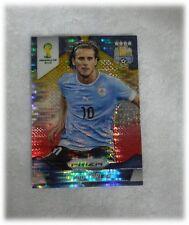 2014 Panini Prizm World Cup Yellow Red Pulsar Diego Forlan - Uruguay #192