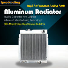 130 56mm Aluminum Radiator For Ford Mustang Shelby GT-350 Falcon Mercury 63-66