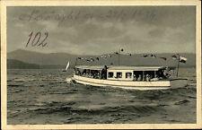 Doksy Bad Hirschberg Tschechien Česká 1934 Thammühl Staré Splavy Boot See Schiff