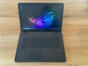 """PC portable Gamer Asus Rog Core i7 GeForce GTX SSD 128Go + 1 To HDD 10GB RAM 17"""""""