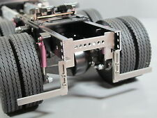 2x Aluminum Fender Frame Mount Bracket Tamiya 1/14 Semi King Knight Grand Hauler