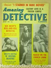 """""""Amazing Detective"""" February 1963 Assault Cover"""