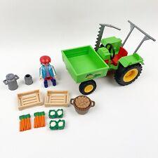 Playmobil 3074 Garden Tractor Farmer 1999