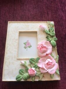 The Leonardo Collection Rose Picture Frame