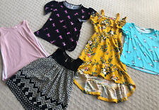 Girls Clothes Lot Size 14/16 5 Pieces Tops And Dress Unicorns!