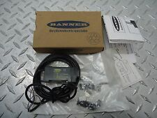 BANNER FIBER OPTIC AMPLIFIER AND CABLE ASSEMBLY MODEL D12EN6FV NEW IN BOX
