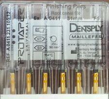 Dental Dentsply Maillefer Rotary ProTaper Universal Engine NiTi Files 31 mm F5