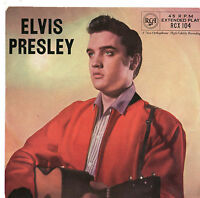 "Elvis Presley - 7"" Ep 1957 - RCA RCX 104"