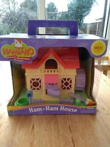 Hamtaro Ham Ham Hamster House play set Cottage 2002 Japanese anime - Hasbro