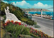 AA7426 Bordighera (IM) - Filobus in strada - Cartolina postale - Postcard
