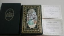 GONE WITH THE WIND PATRON'S EDITION - EXCELLENT CONDITION - 22 KARAT GOLD W/COA