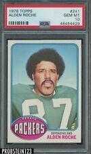 1976 Topps Football #241 Alden Roche Packers PSA 10 GEM MINT