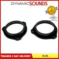 CT25KI09 130mm Front Door Car Speaker Adaptors For Kia Rio (2015 Onwards)