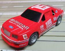 PARA COCHE SLOT RACING Maqueta de tren Ford Thunderbird con TYCO MOTOR Y