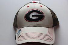 Georgia Bulldogs cap beige camo NCAA College 3 d tapa de logotipo velcro