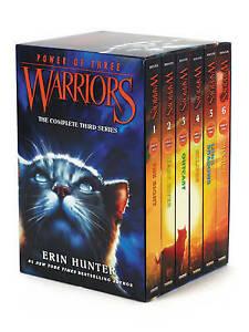 Warriors: Power of Three Box Set: Volumes 1 to 6, Erin Hunter,  Paperback