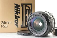 [EXC+5 in BOX] Nikon Ai-s Nikkor 24mm F/2.8 Ais Wide Angle Lens from Japan 808