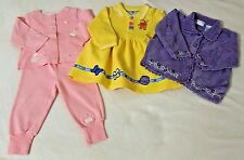 Girls 12 Month Outfit, Dress, Sweater, Carters, Disney Pooh, All Mine Lot