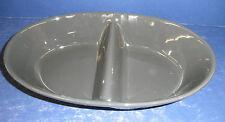 Blue Ridge PINK Spiderweb Dinnerware- Gray Divided Bowl- Excellent Condition