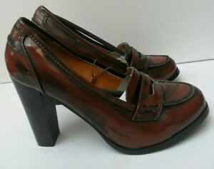 Debenhams Redherring New Chocolate Brown High Heels Shoes - Size UK 5, 6, 7, 8