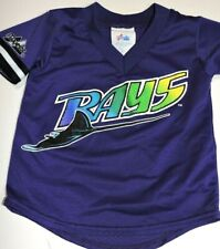 TAMPA BAY DEVIL RAYS jersey toddler 2T SEE SIZES Majestic vitnage