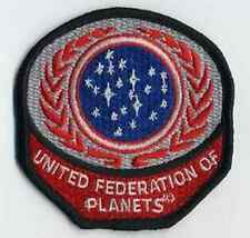 """Star Trek United Federation Planets Red Logo  3"""" Patch- FREE S&H (STPAL-UFPR)"""