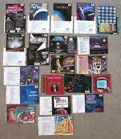 STAR TREK SCI-FI HORROR MOVIE MUSIC CD LINER NOTES/BOOKLETS x20 (NO CD's) TV