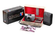 Contax T 1st versione con obiettivo 38mm F/2.8 T14 Flash Champagne con pacchetto