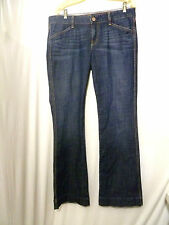 GAP Women's Jeans 1969 Sexy Boot  Flap Snap Pockets 30 / 10 35 X 34 (bf)
