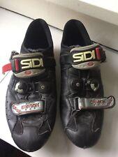 Sidi Dragon SRS mountain/road bike shoes, size 46/12 , black, great shape