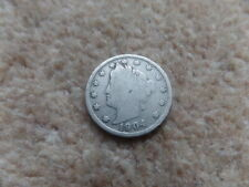 Old Collectiable American Coin 1904 - 21 mm . Good Gift!
